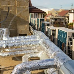 Монтаж систем кондиционирования и вентиляиции